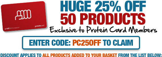 Exclusive Protein Card Offer