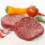Lean Ostrich Steak Burgers - 2 x 4oz ****