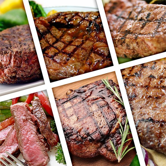 3 Supreme Steak Hampers