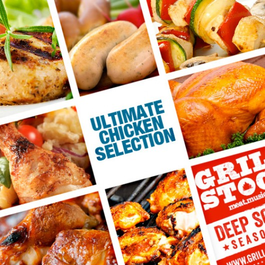 3 Ultimate Chicken Selection Boxes