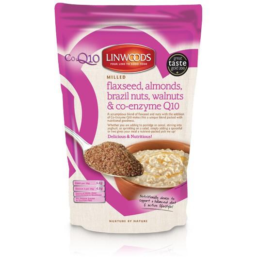 Flaxseed, Almonds, Brazil Nuts, Walnuts, & Co-Enzyme Q10