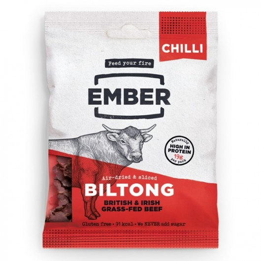 High Protein Ember Chilli Biltong 30g