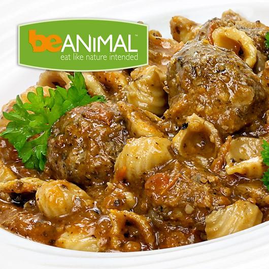 Beef Meatballs & Pasta