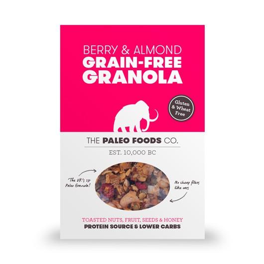 Berry & Almond Paleo Granola