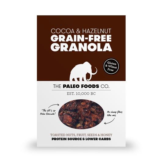 Cocoa & Hazelnut Paleo Granola