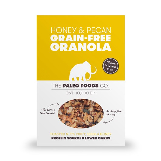 Honey & Pecan Paleo Granola