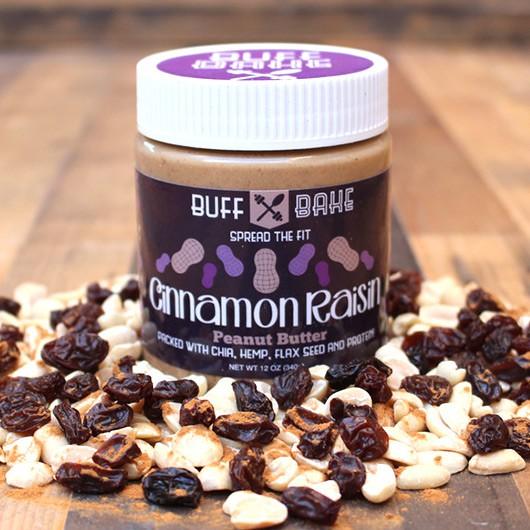 Cinnamon Raisin Peanut Butter - 340g