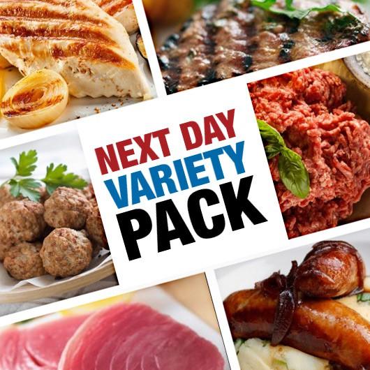 Next Day Meat, Fish & Snack Variety Hamper