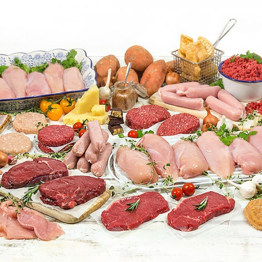 Super Lean Muscle Food Meat Selection