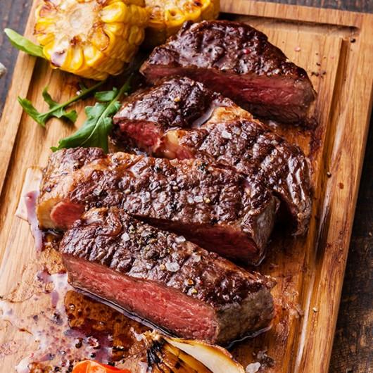 30 x 6-7oz Rump Steaks and Seasoning