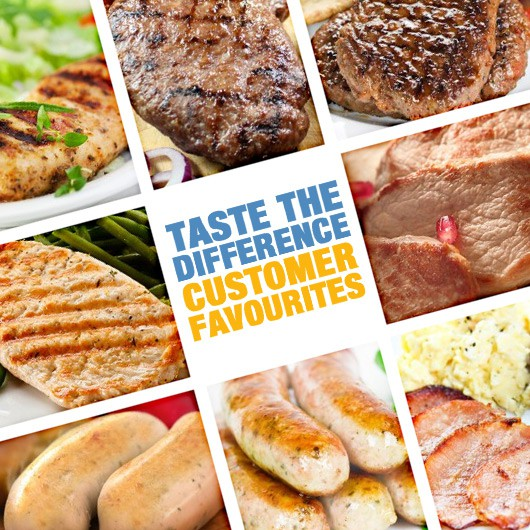 Taste The Difference – Muscle Food Customer Favourites