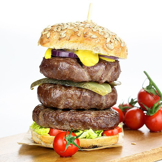 Extra Lean Steak Burgers - 10 x 114g