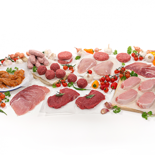 Great Tasting Lean Meat Hamper - 84 Pieces
