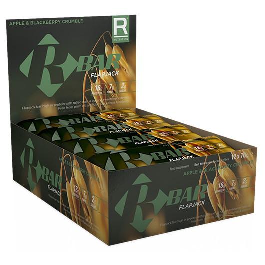Reflex R Bar Flapjacks - 12 x 70g - Maple Syrup