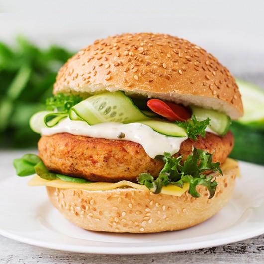 Sweet Chilli Chicken Burgers - 2 x 114g