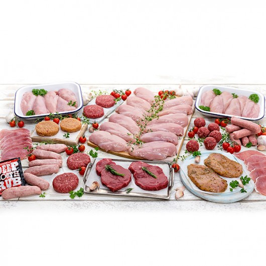 62 Piece Summer Lean Meat Selection