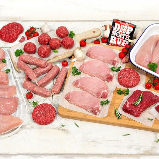65 Piece Lean Meat Hamper