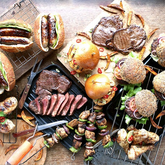 35 Piece Summer BBQ Selection