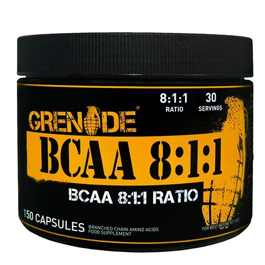 Grenade® BCAA 8:1:1 - 150 Capsules
