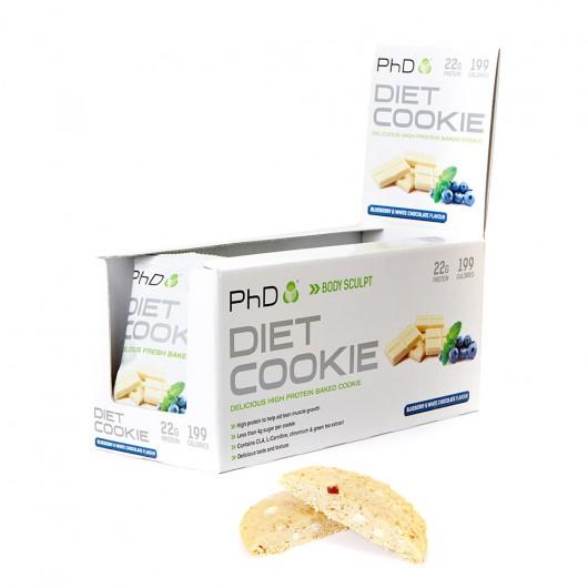 PhD Diet Cookies - 12 x 50g