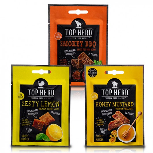 Top Herd Jerky - 8 x 35g