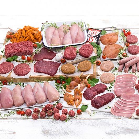 71 Piece August's Bestselling Meat Hamper