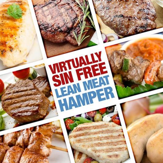 Virtually Sin Free! Extra Lean Meat Hamper