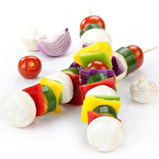 Vegetable Kebab Sticks x2