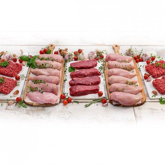 Simply The Best Fresh Meat Hamper + £5 Extra Hamper