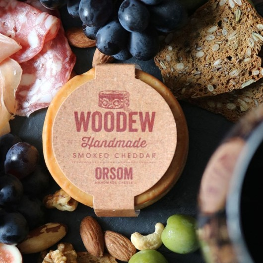 Woodew Cherry Wood Smoked Cheddar 200g-200g