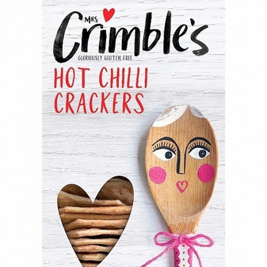 Mrs. Crimbles Hot Chilli Cheese Crackers