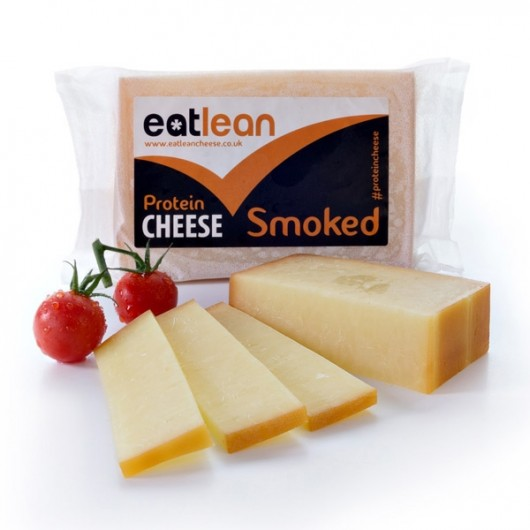Eatlean Low Fat Smoked Cheese - 2 x 350g