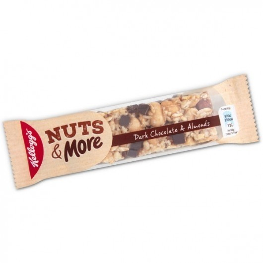 Kellogg's Nuts & More Bar Chewy Chocolate - 6 Bars