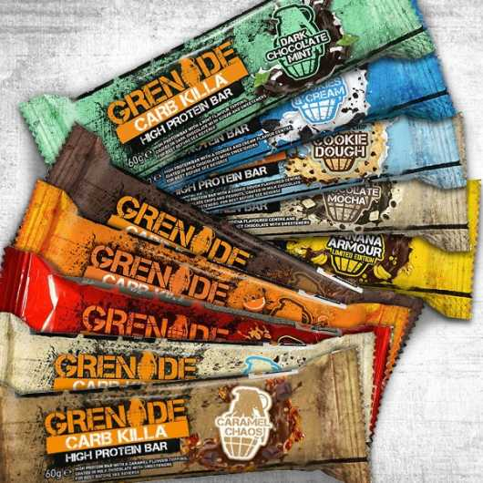 Grenade® Carb Killa™ Bars-12 x 60g-Birthday Cake