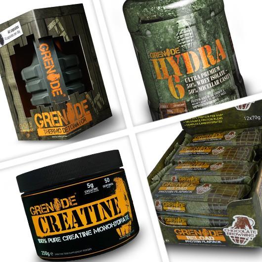 Ultimate Grenade Supplement Stack