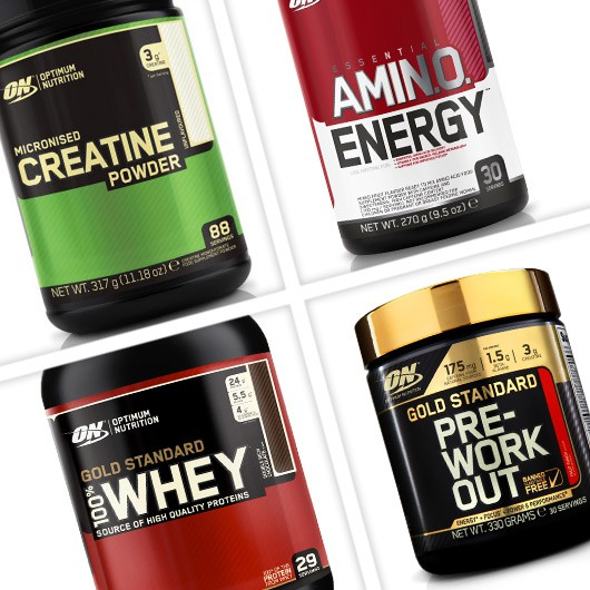 Optimum Nutrition Essentials Stack