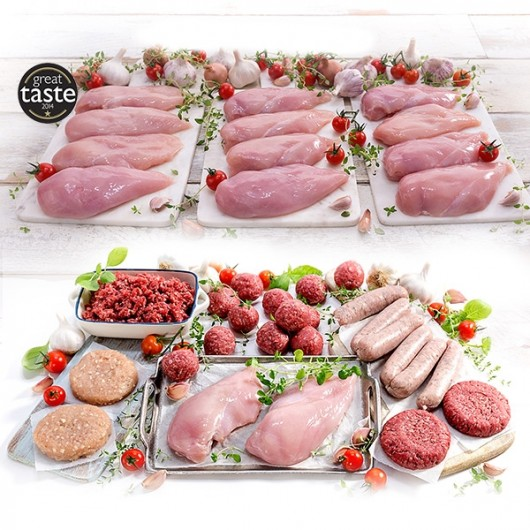 2.5kg Chicken Breasts + FREE 25 Gorgeous Pieces (worth £19.55)
