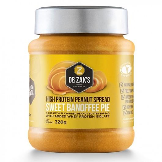 Dr Zaks Sweet Banoffee Pie Peanut Butter - 320g