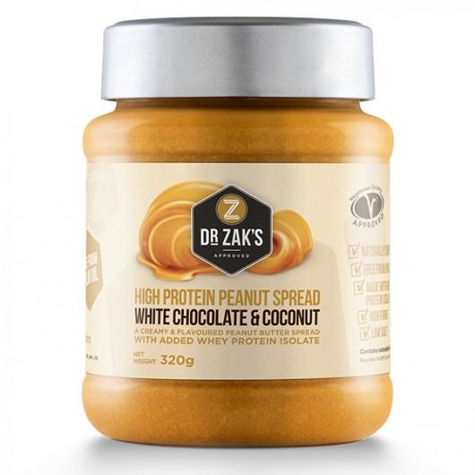 Dr Zaks White Choc & Coconut Peanut Butter