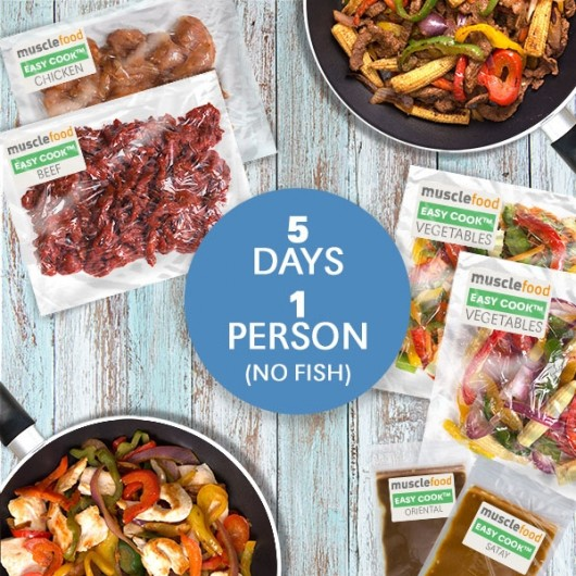 Clean Eating Dinner For 5 Days - 1 Person