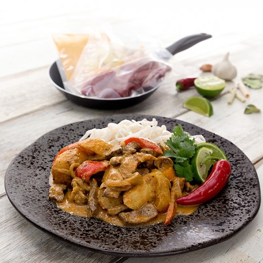 Low Fat Thai Beef Massaman Curry - 1 Portion
