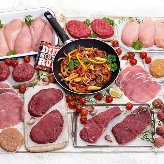 Wuntu Exclusive Extra Lean Meat Hamper