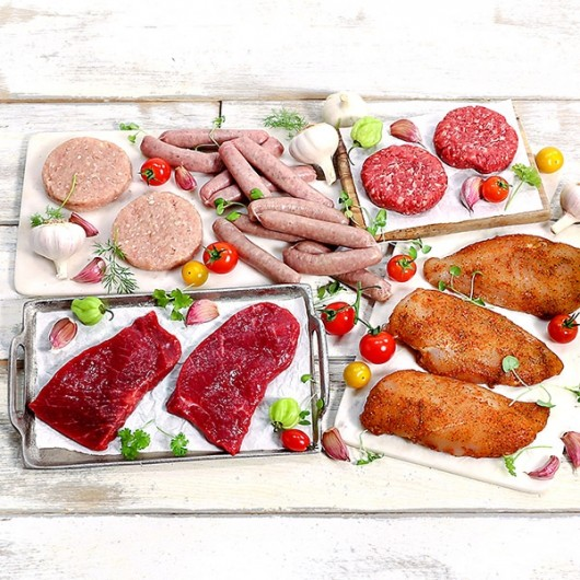 Summer Lean Meat Selection