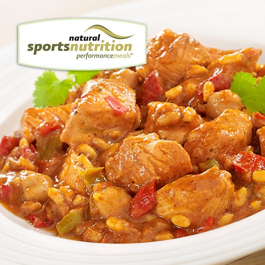 Chicken Jalfrezi Performance Meal From Muscle Food