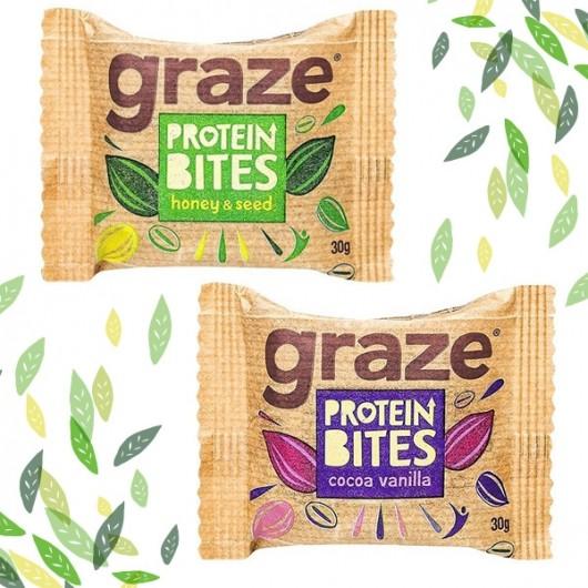 Graze Protein Bites - 6 Pack *****
