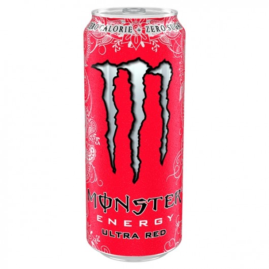 Monster Energy Ultra Red - 12 x 500ml