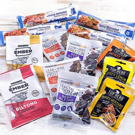 Biltong/Jerky/Meaty Snack Bundle