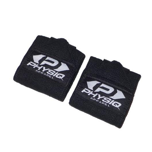 Physiq Comfort Wrist Straps - Black