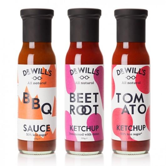Dr Wills Sauces 250g