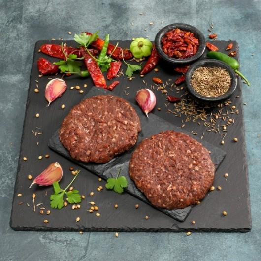 Buffalo & Caramelised Onion Burger - 2 x 110g ****